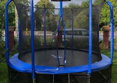 trampolina Jumpi niebieska