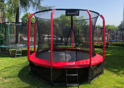 trampolina Jumpi czerwona