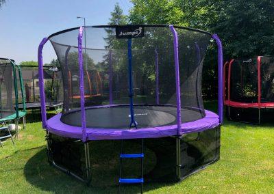trampolina Jumpi fiolet