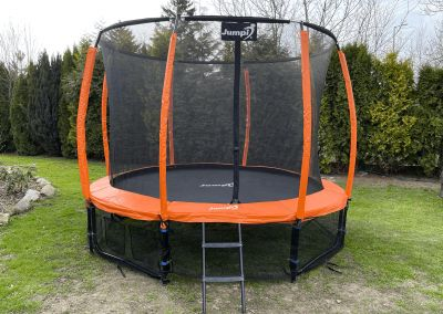 trampolina Jumpi pomarańczowa