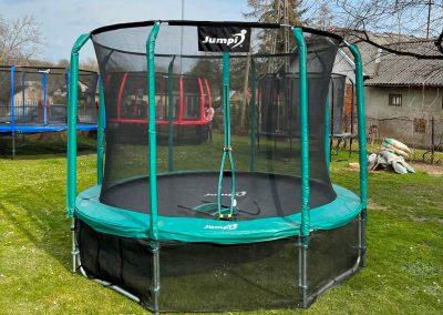 trampolina Jumpi zielona