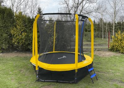 trampolina Jumpi żółta